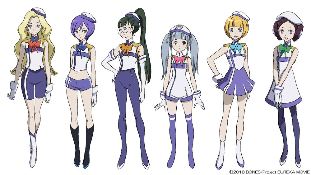ANEMONE: EUREKA SEVEN HI-EVOLUTION Releases New Character Designs