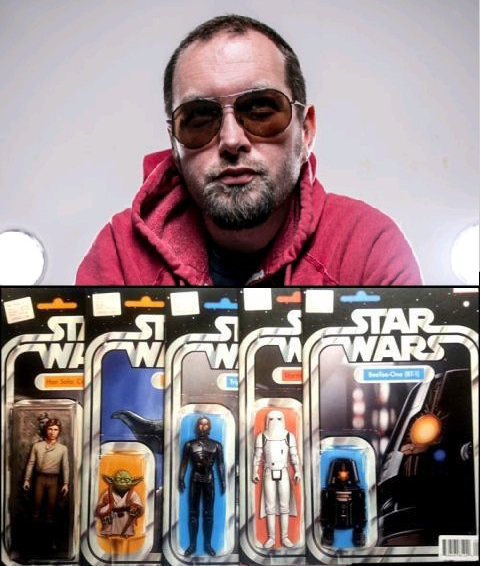 EXCLUSIVE: One on One With STAR WARS Action Figure and Comic Book Artist John Tyler Christopher