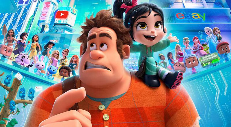 RALPH BREAKS THE INTERNET John C. Reilly on Ralph and Vanellope
