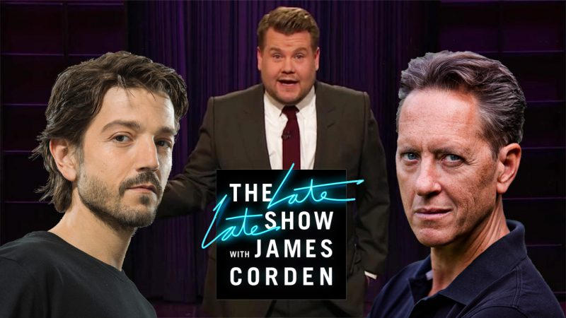 Star Wars Actors Richard E. Grant and Diego Luna to Appear on The Late Late Show