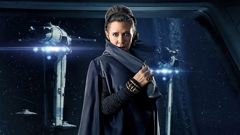 Image result for Leia wields lightsaber images
