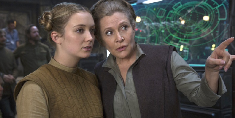 Billie Lourd; Carrie Fisher