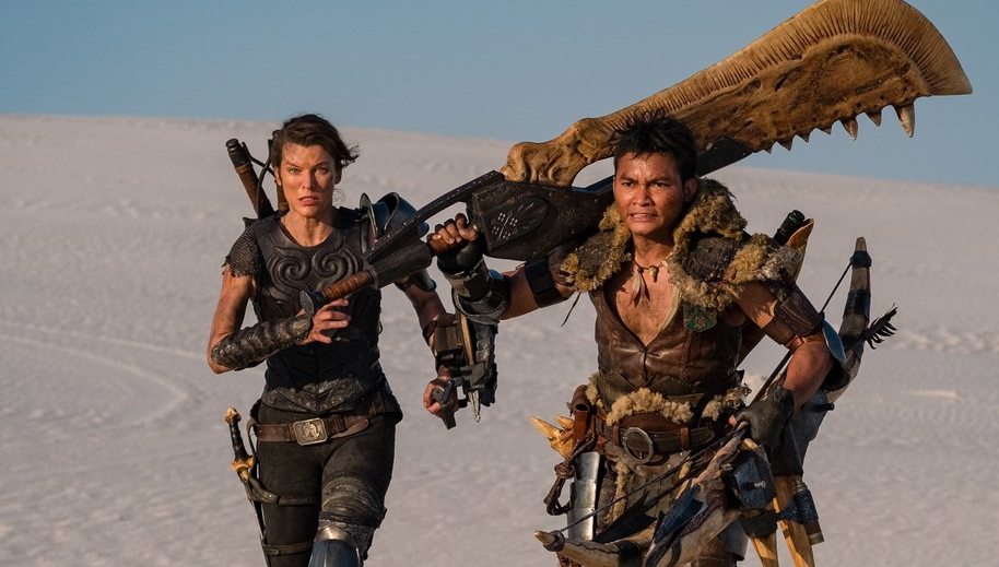 First Look at MONSTER HUNTER with Tony Jaa and Milla Jovovich