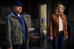 Bobby Singer and Mary Winchester in Supernatural Season 14