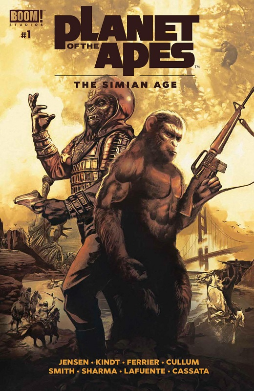 Planet Of The Apes: The Simian Age #1 Is A Must Read For Fans