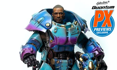 """Fallout"" X-01 Power Armor Quantum Variant Figure Now Available to Pre-Order"