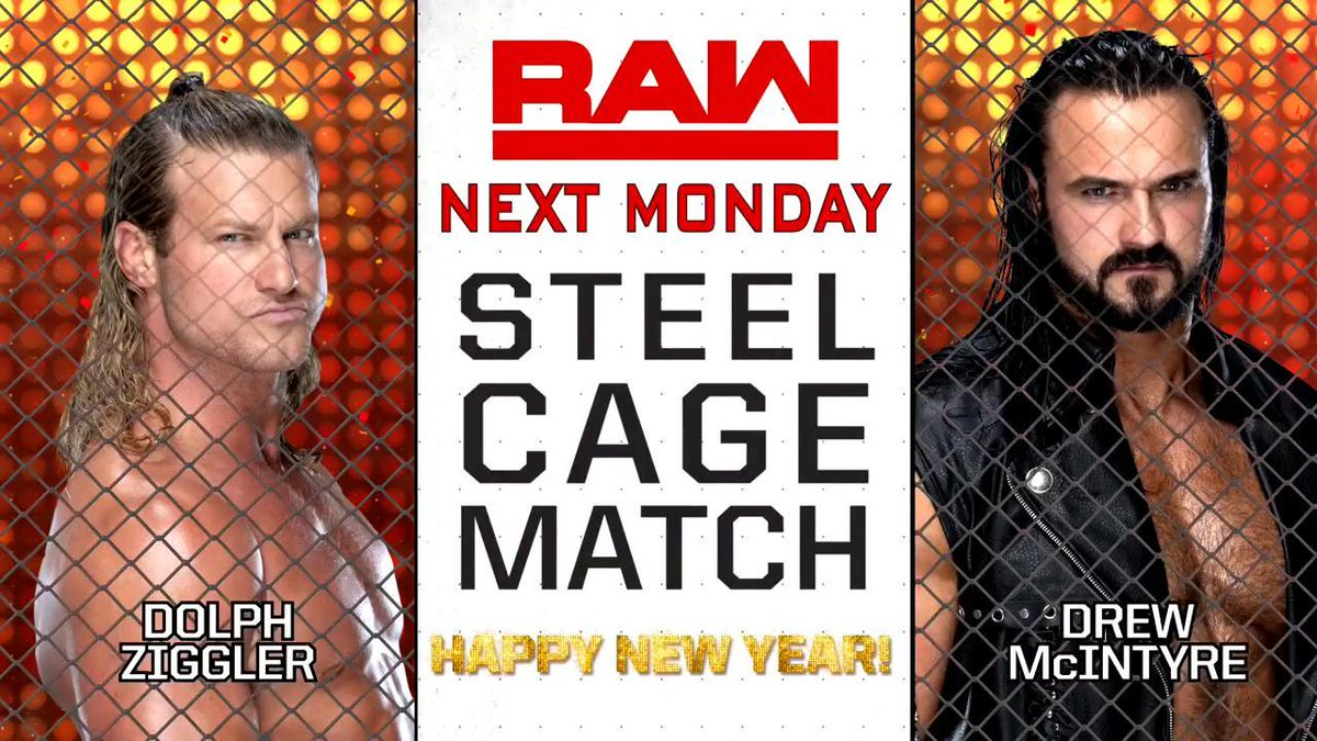 Monday Night RAW Spoilers For The New Year's Eve Show