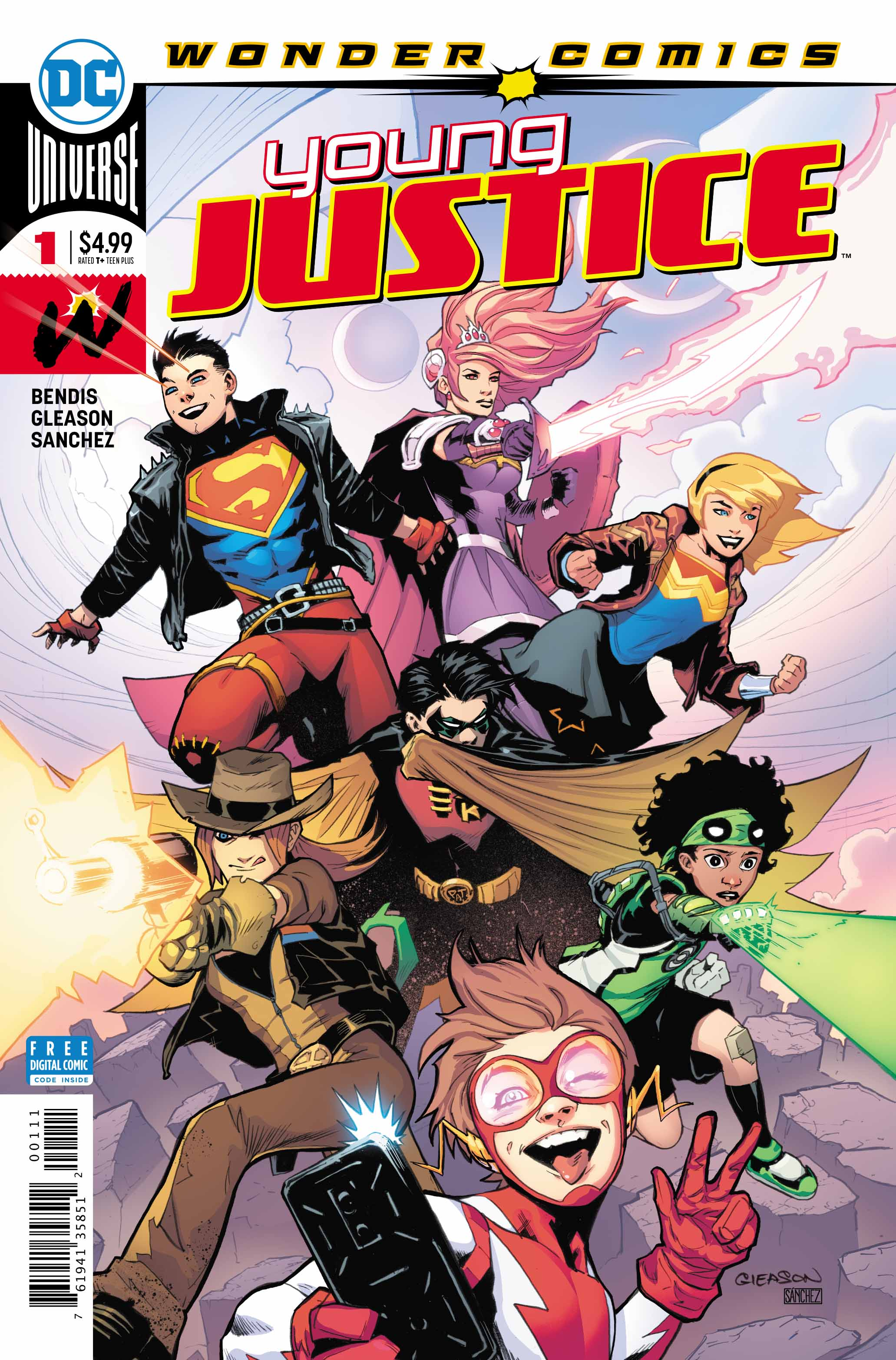 Young Justice #1: The Young'ins Return!