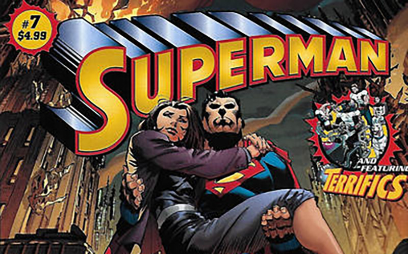 Rumored Recall Of Walmart's Giant Superman Comic For Violently Killing Lois 14 Times In 12 Pages.