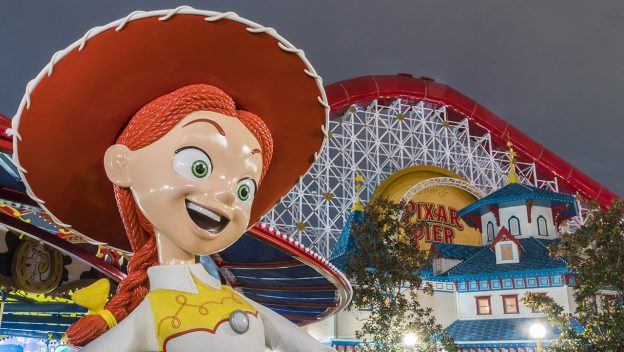 PIXAR PIER: Jessie's Critter Carousel To Open In April
