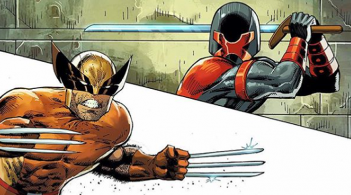 Wolverine and Major X prepare to fight in Major X #1