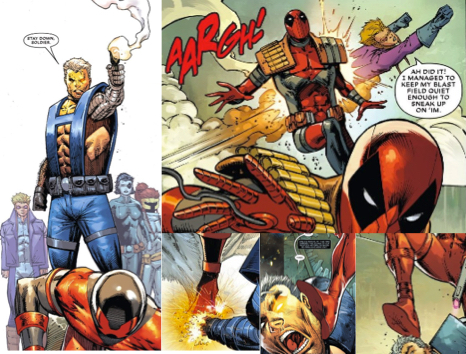 Cable and Deadpool make their appearance in Major X #1