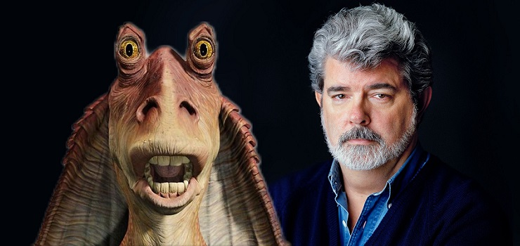 George Lucas Doubles Down, Declares Jar Jar Binks Favorite STAR WARS Character