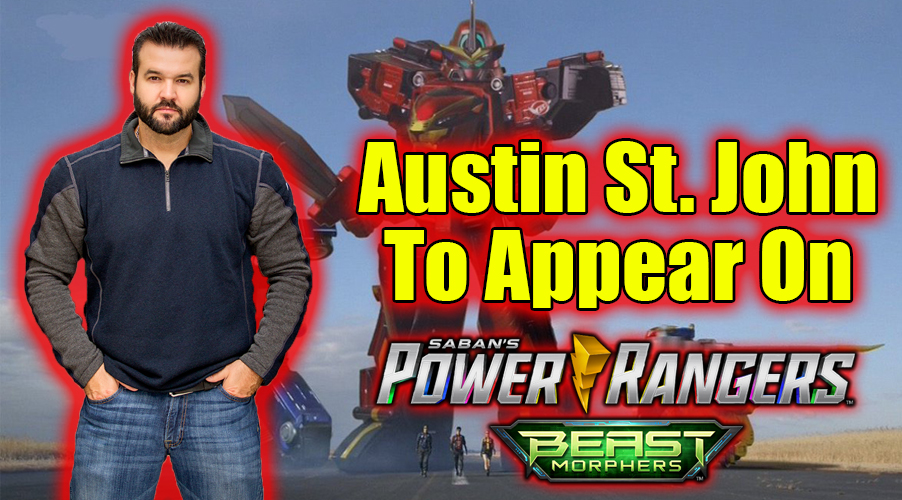 EXCLUSIVE: Austin St. John Set To Return For Team-Up In POWER RANGERS: Beast Morphers