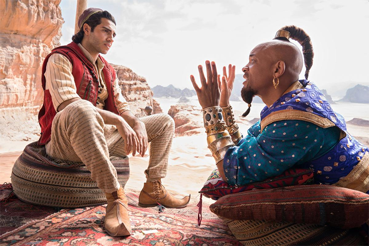 Hip Hop Helped Will Smith Become ALADDIN'S Genie