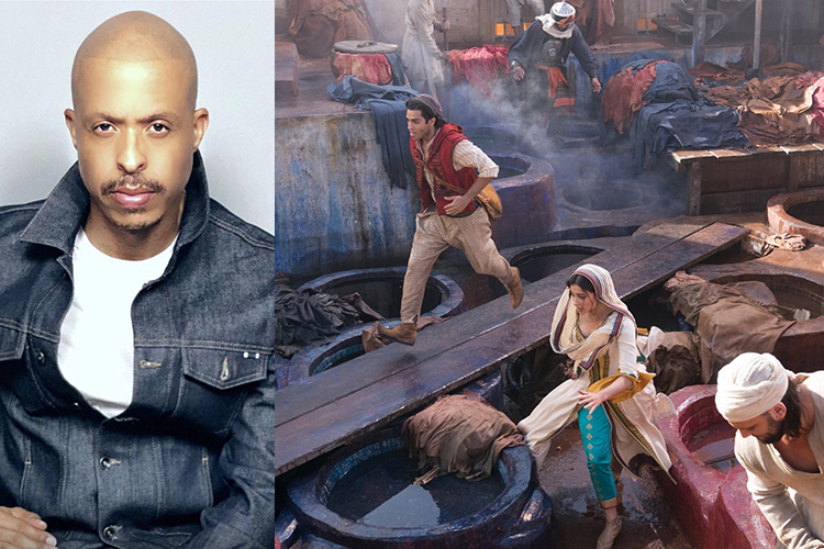 ALADDIN Choreographer Jamal Sims is the Star of the Show