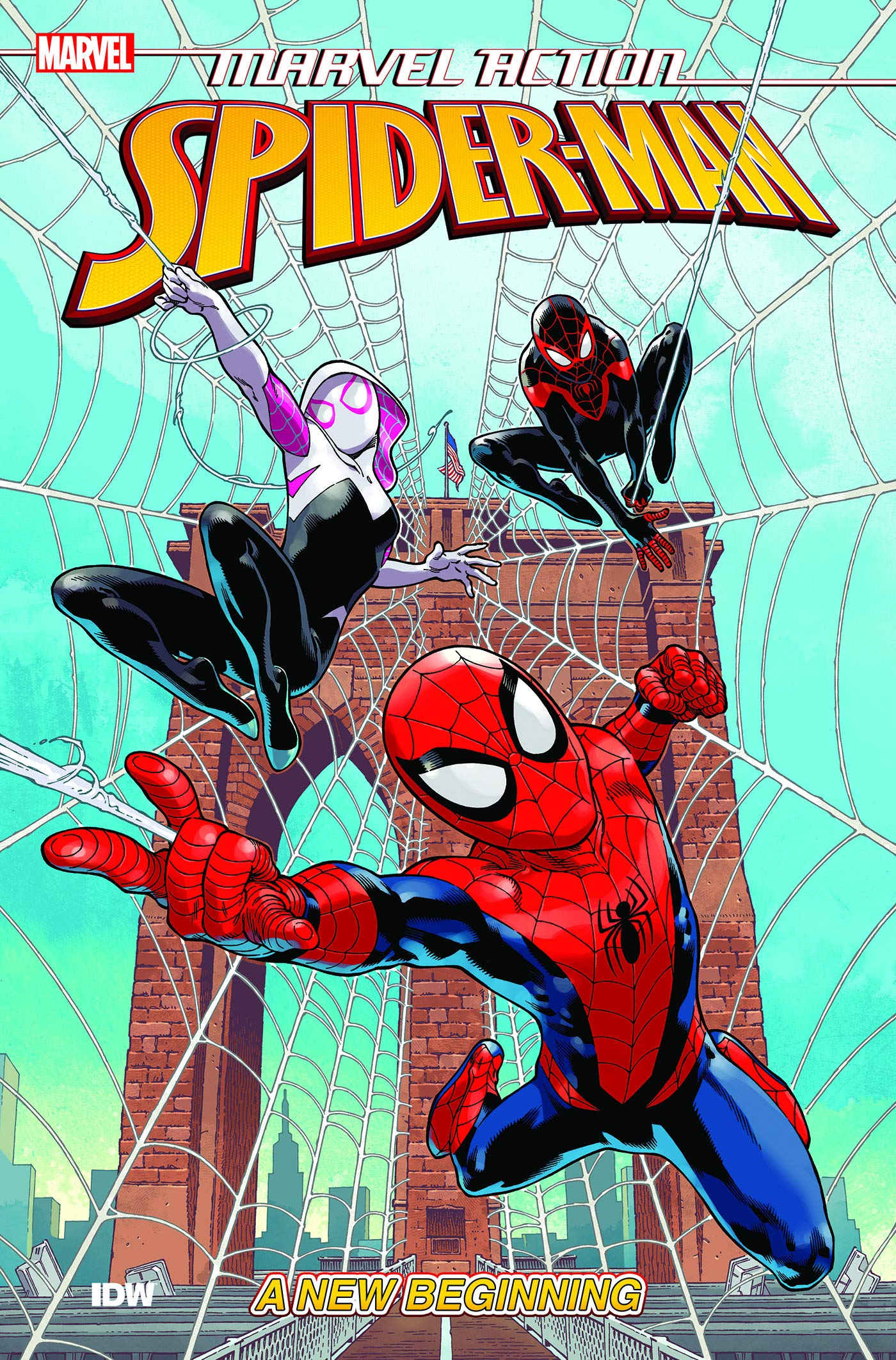 MARVEL ACTION SPIDER-MAN BOOK ONE A NEW BEGINNING