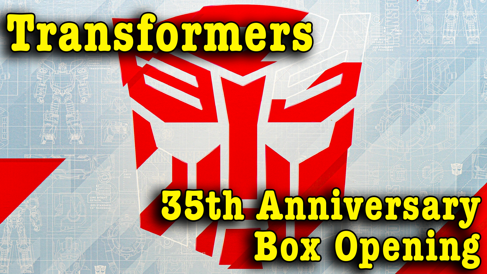 Transformers 35th Anniversary Box Opening