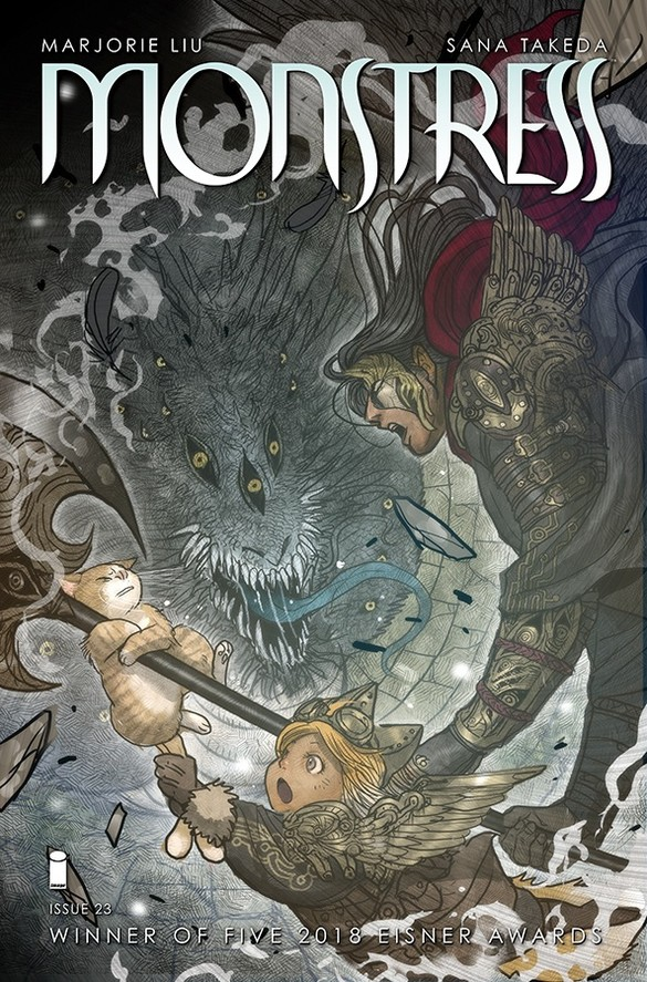 Monstress 23 – The Father Of All Evils
