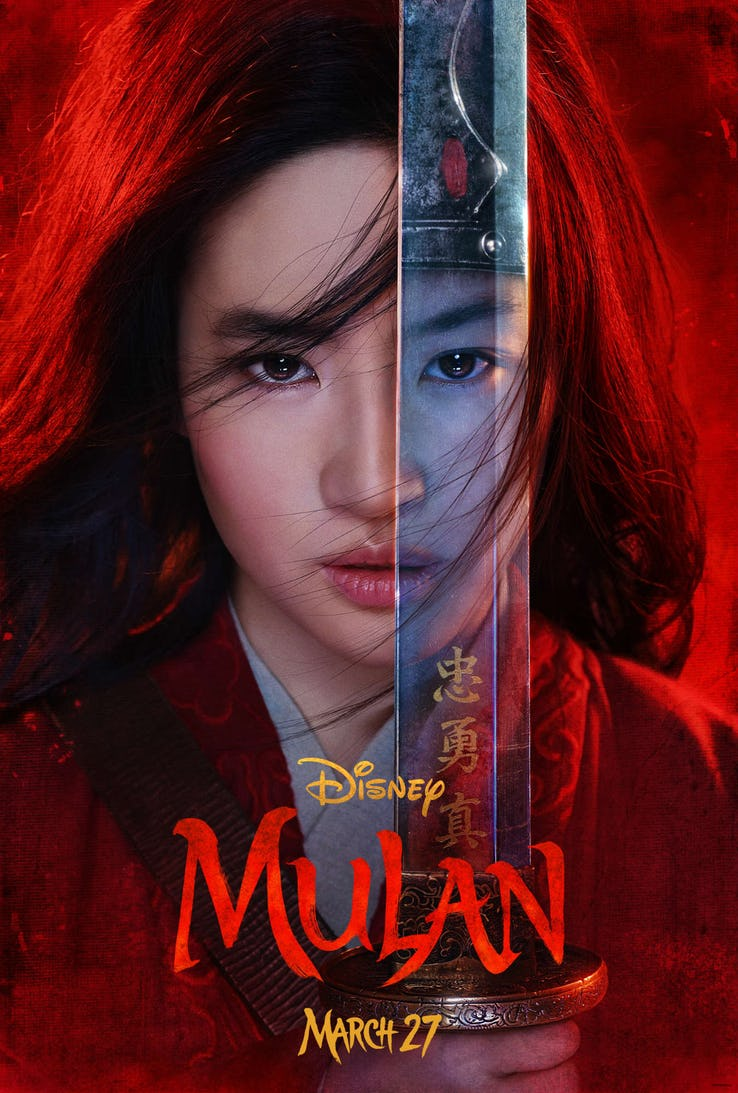 Disney Releases First-Look Character Posters For Live-Action Mulan (See Them Here!)