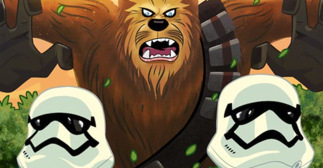 Chewbacca No Longer A Sidekick In IDW's STAR WARS: Adventures Number 27