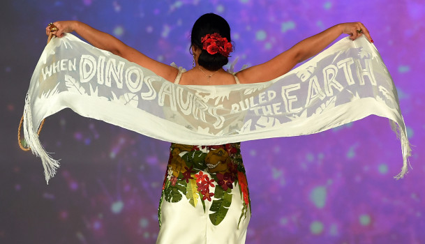 SDCC 2019: Jurassic Park Rules Over Her Universe Fashion Show.