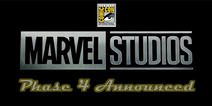 SDCC 2019: Marvel Announces Phase 4 of MCU – All Of It!