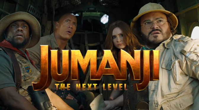 Jumanji: The Next Level Trailer Levels Up!