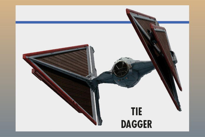 TIE Dagger: Star Wars Visual Dictionary Reveals Newest TIE Design