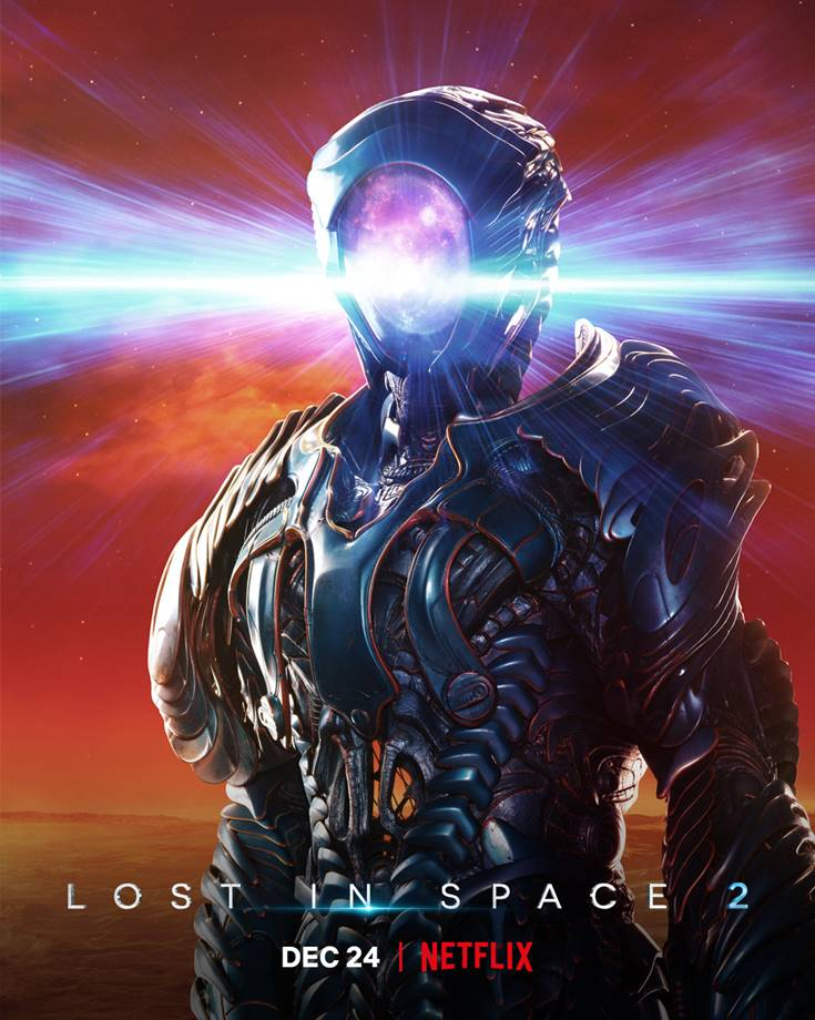 Lost in Space, Season Two debut on Netflix, Dec 24