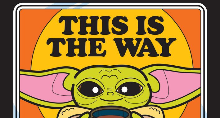 This Is The Way – To Color Baby Yoda For Free.