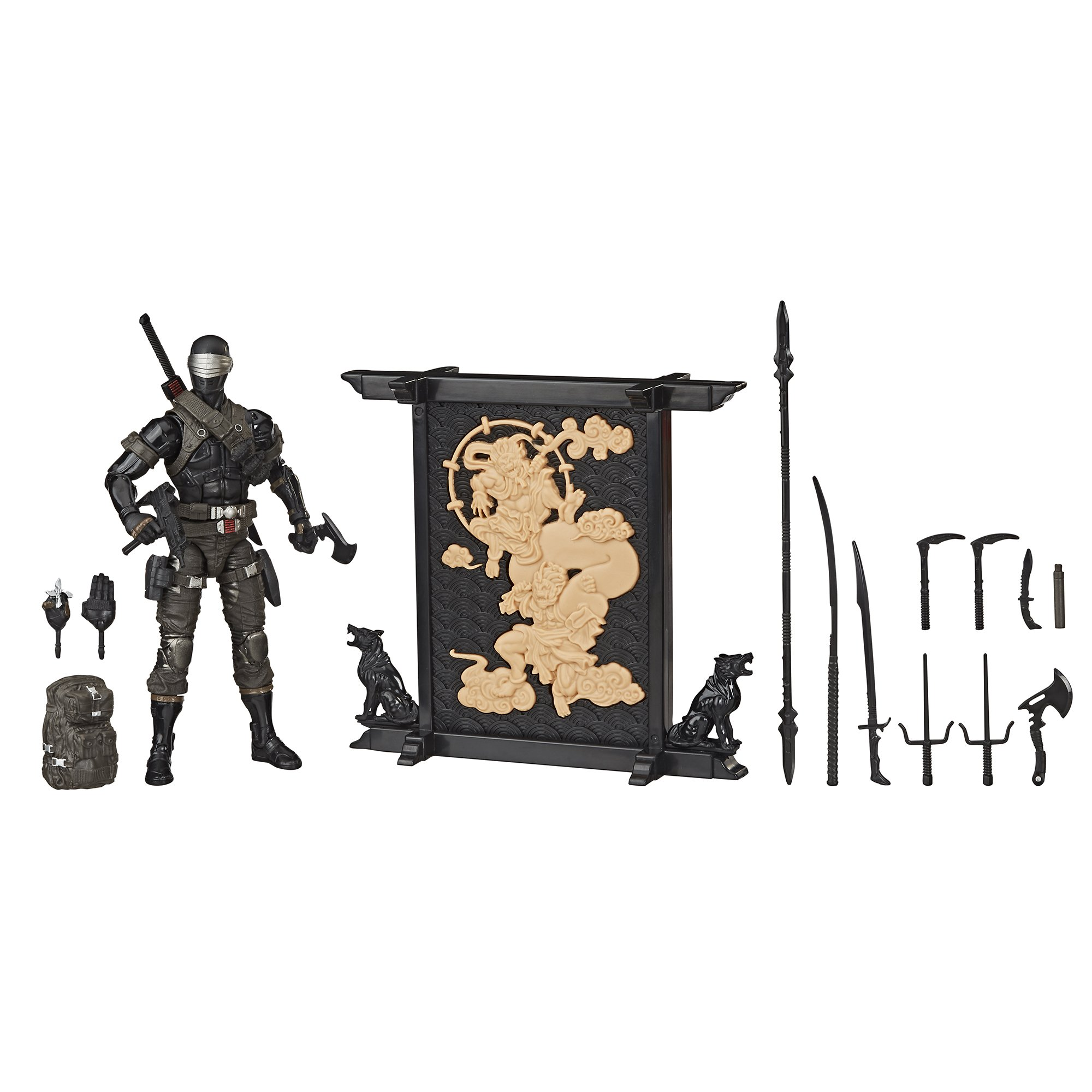 G.I. Joe Classified Snake Eyes Deluxe Action Figure Coming From Hasbro