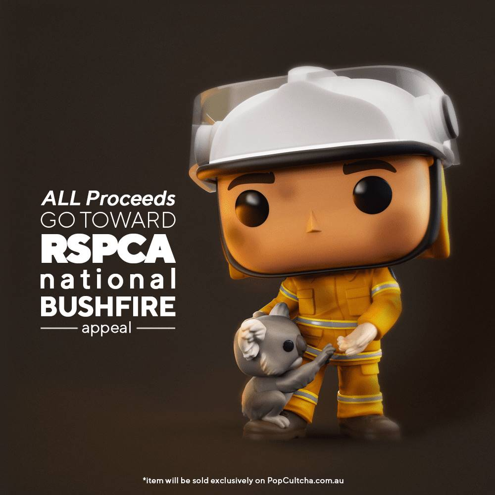Funko Pop! & PopCultcha Team Up for Australian Wildfire Relief