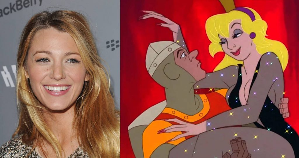 Blake Lively as Princess Daphne - Dragon's Lair