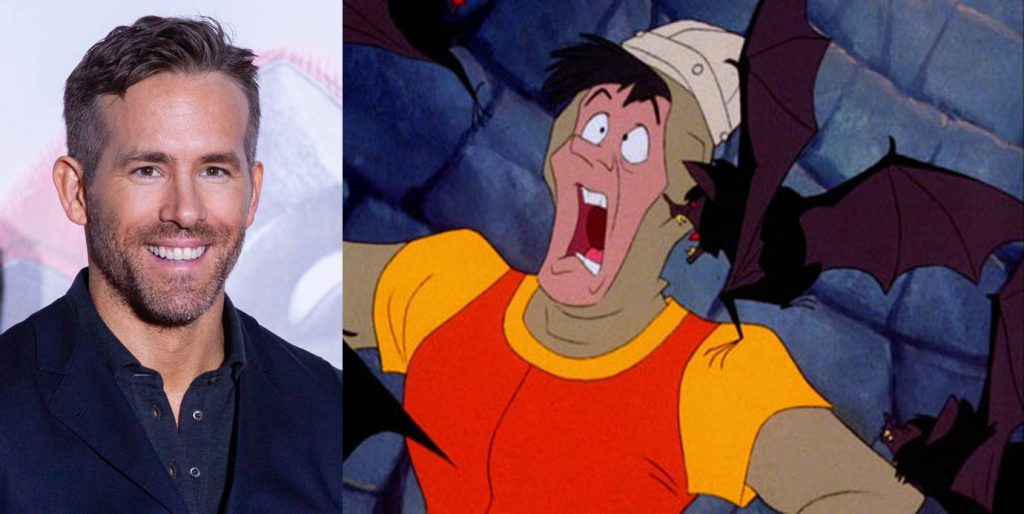 Ryan Reynolds as Dirk the Daring - Dragon's Lair