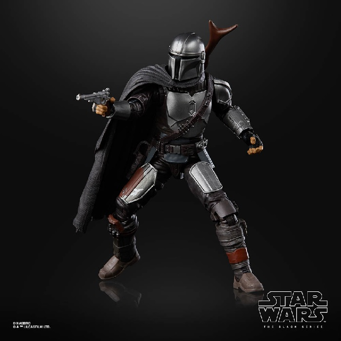 full beskar mandalorian; Black series