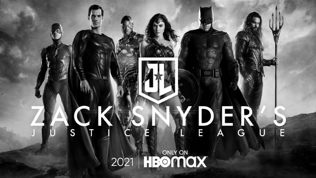 Justice League Snyder Cut on HBO Max