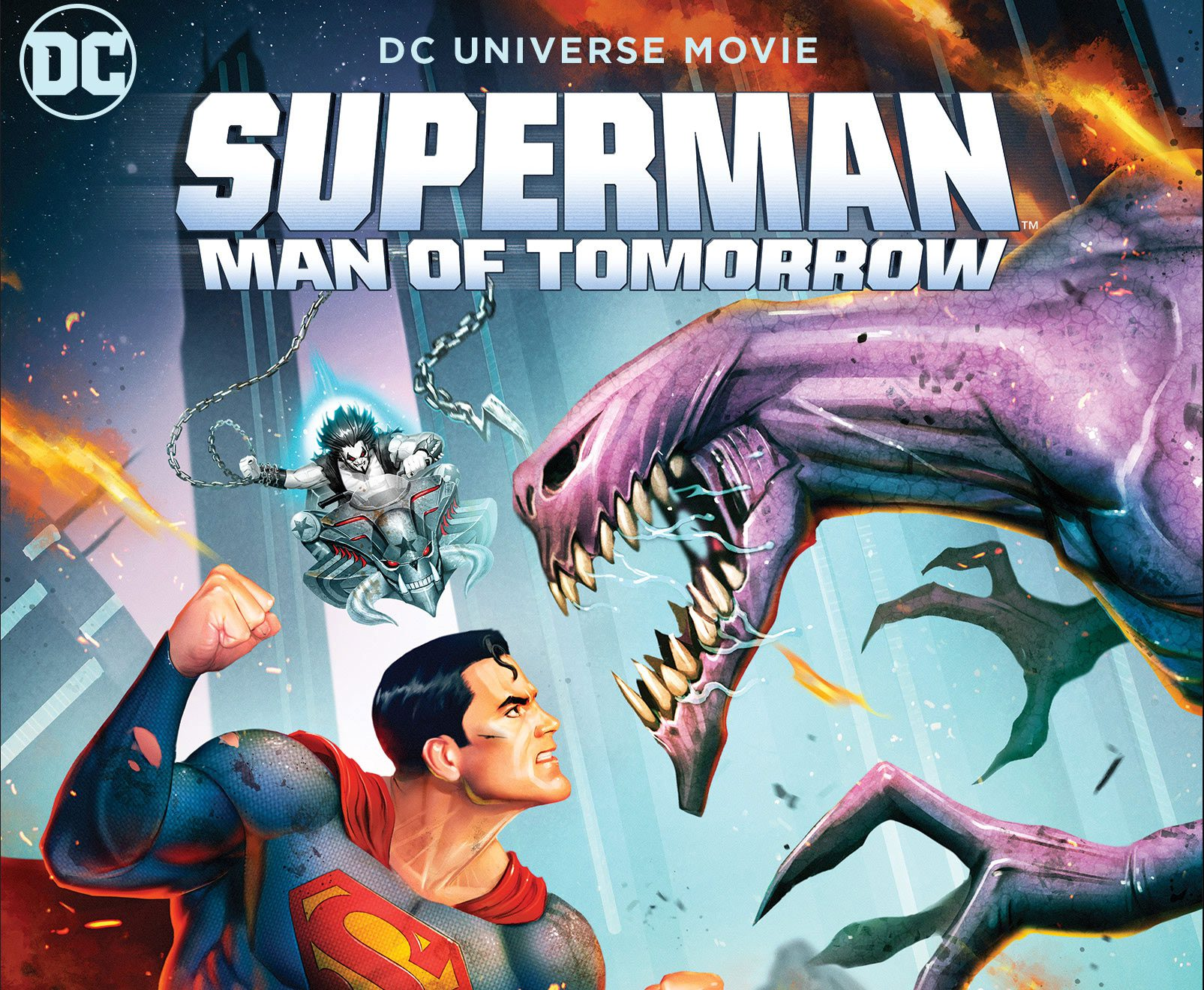Superman: Man of Tomorrow coming to digital (8/23) and Blu-Ray/4K (9/8)