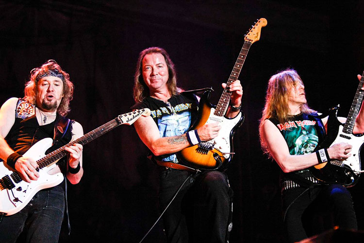 Adrian Smith Says Maiden Three-Guitar Lineup Could Have Gone Badly