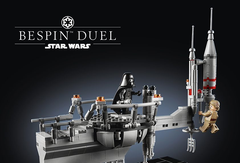LEGO: STAR WARS Bespin Duel 40th Anniversary Set Coming Soon