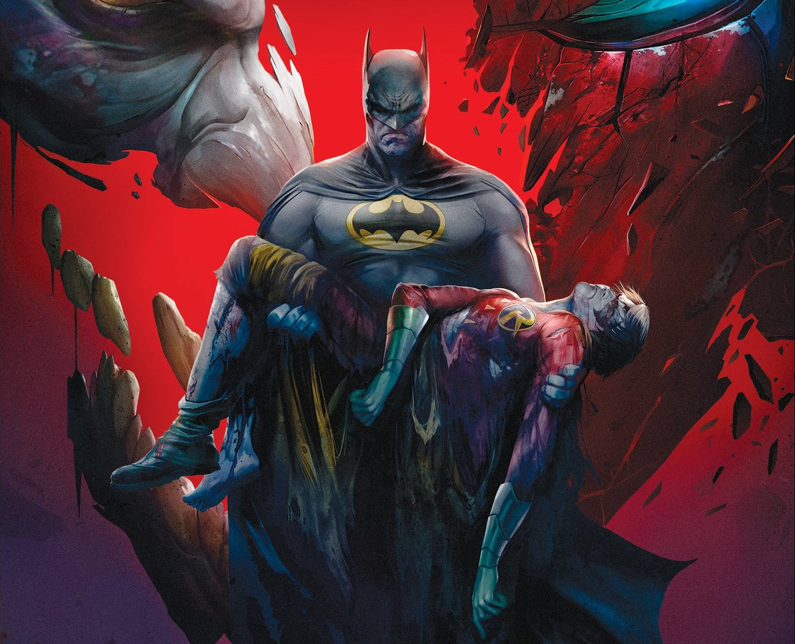 Batman And Robin Alfred Dying