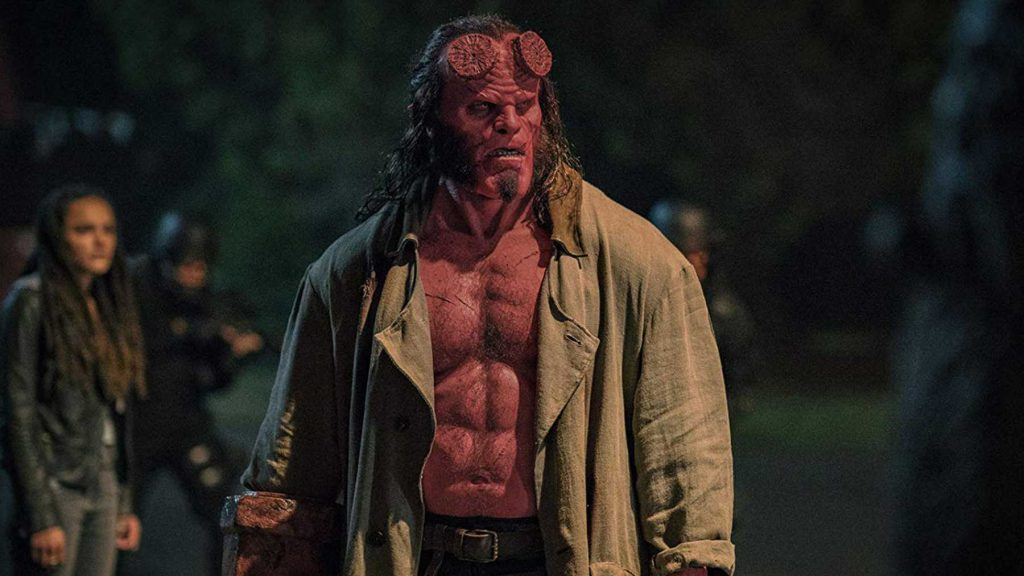 Hellboy streaming in January