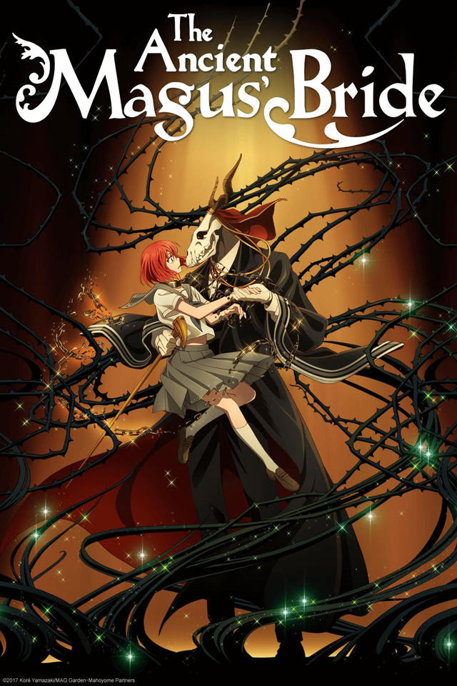 """The Ancient Magus' Bride"" anime."