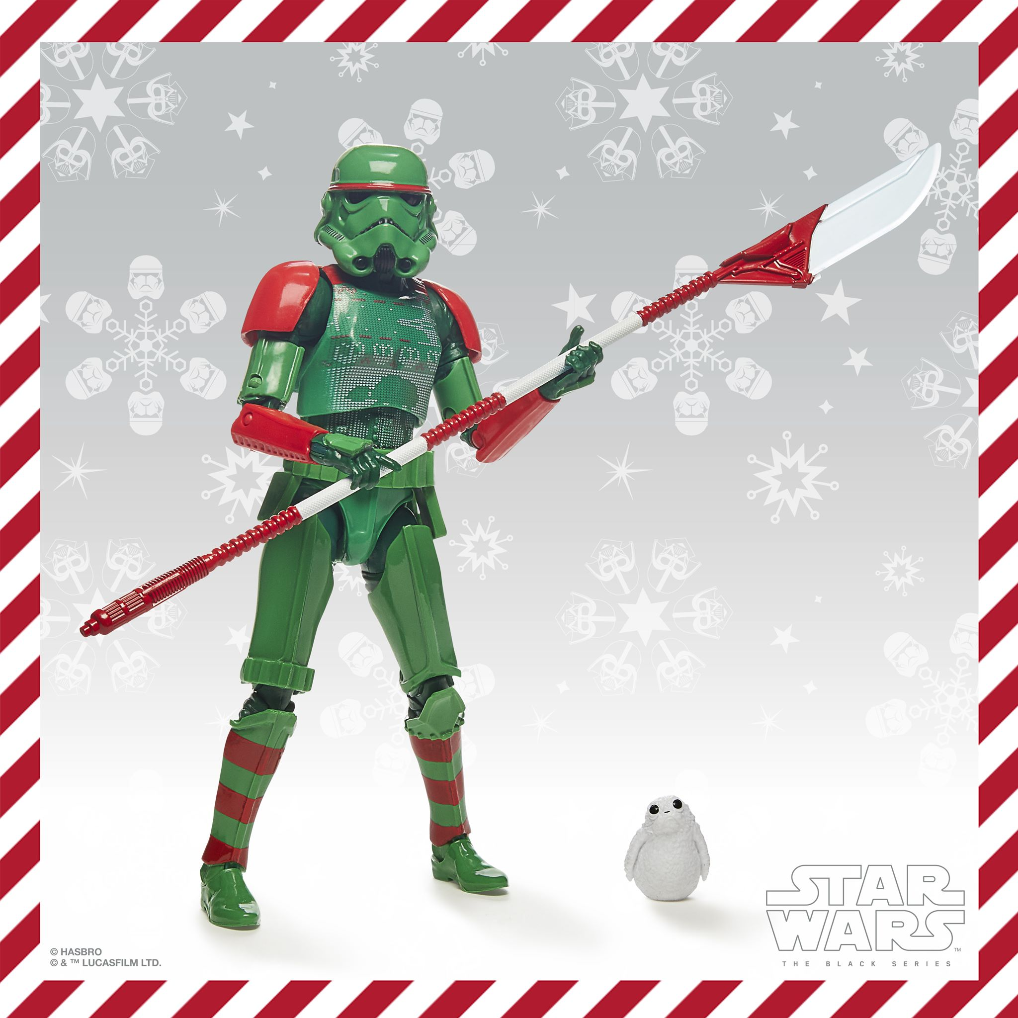 Star Wars Black Series: Stormtrooper Holiday Edition