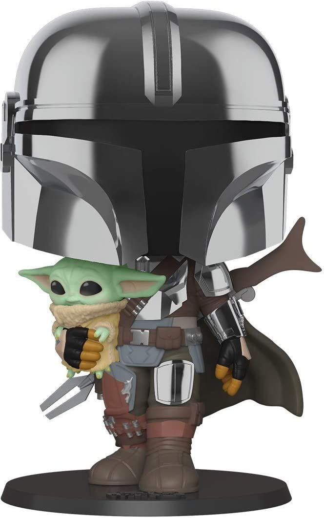 Mando Mondays: Funko Pop Release 3 Mandalorian with Baby Yoda Figurines