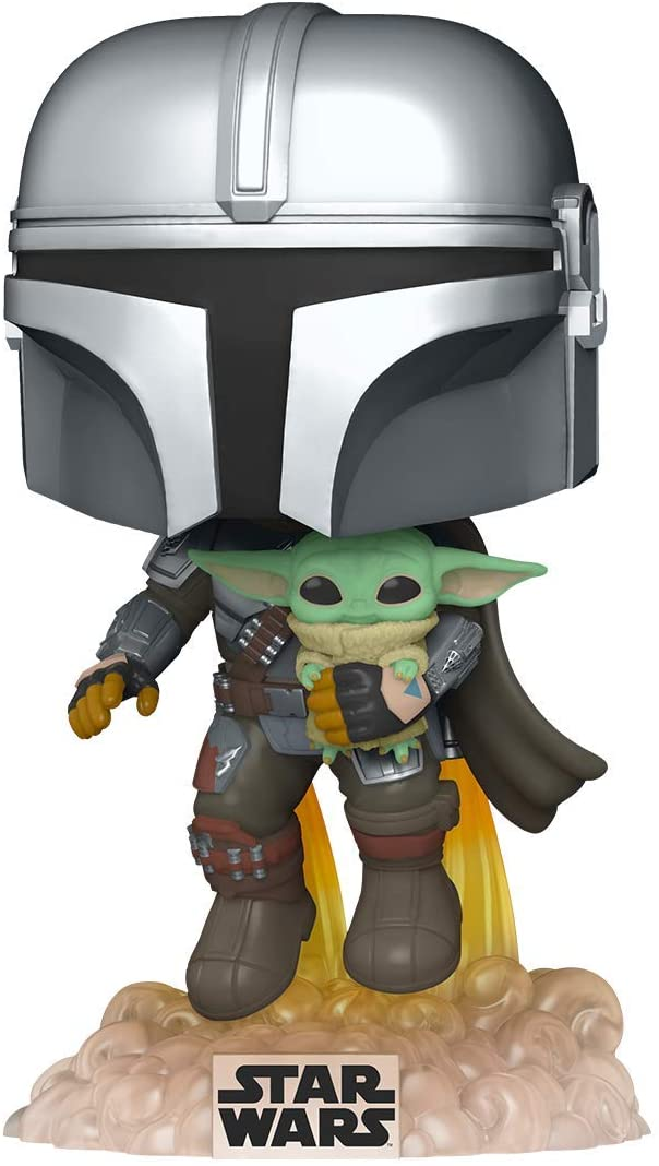 Mando Mondays: Funko Pop Mandalorian with Child On Sale Now