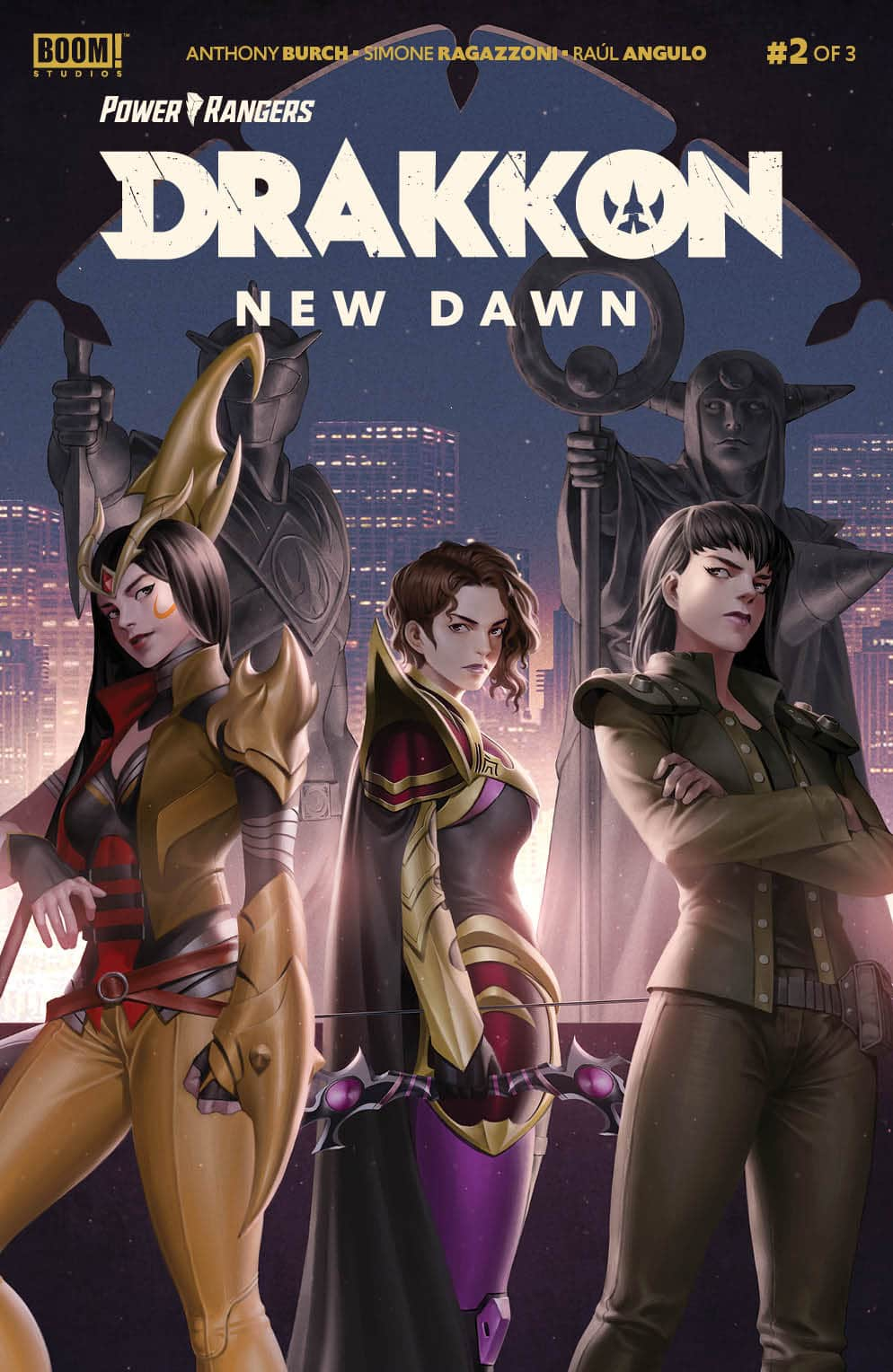 Power Rangers: Drakon New Dawn #2 Review