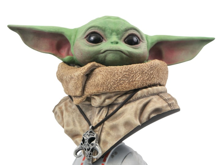 Mando Mondays: The Child (Baby Yoda) 1/2 Scale Bust for $120
