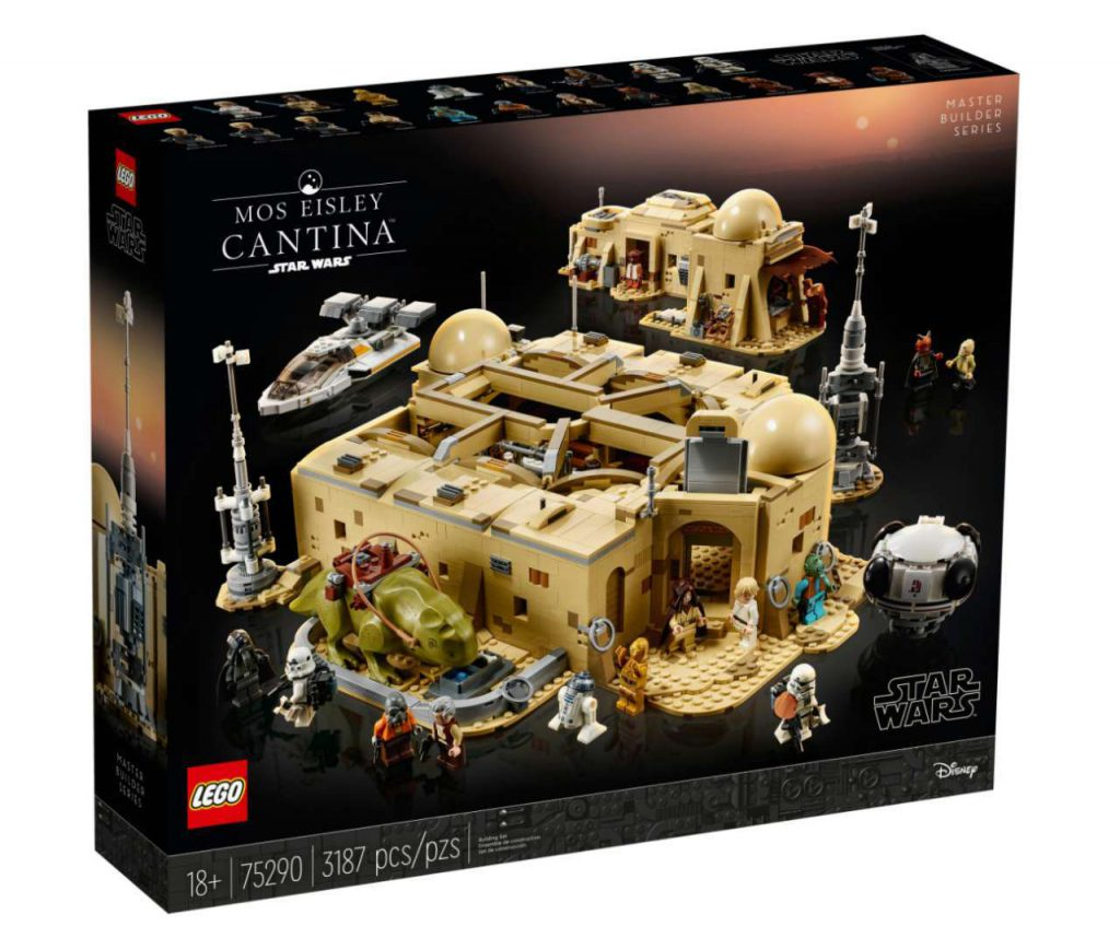 The box art for the Cantina LEGO set.