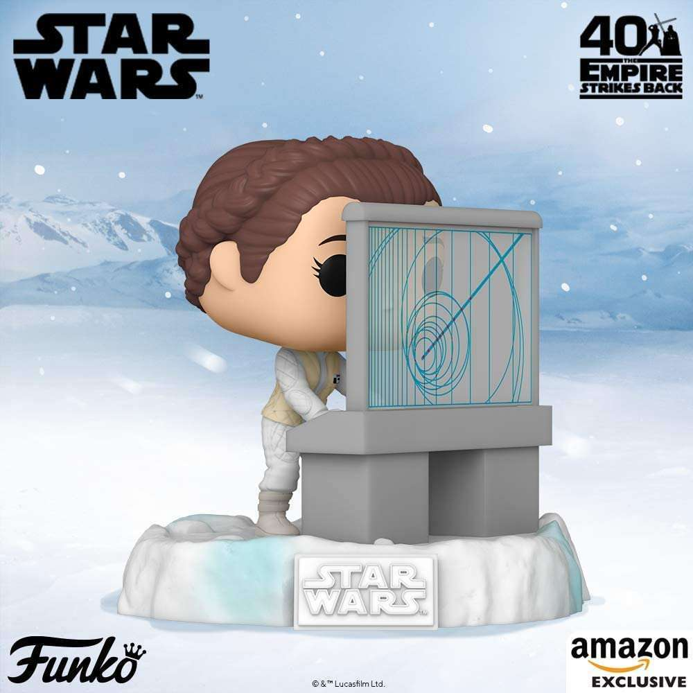 Leia as Hoth Base Operator Now 5th in Funko Pop Echo Base Line